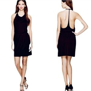 Wilfred Free Ophelie Halter Backless Black Dress
